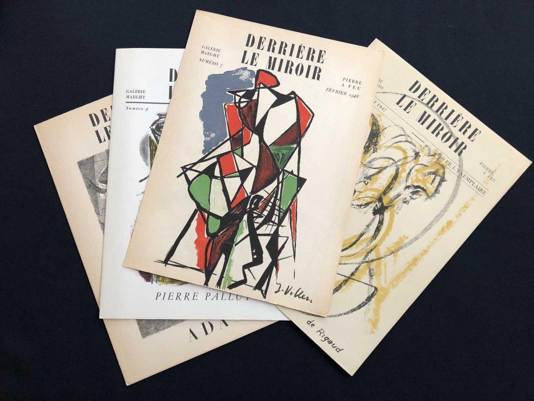 Group of four Derriere le Miroir:  3 Rigaud  - 7