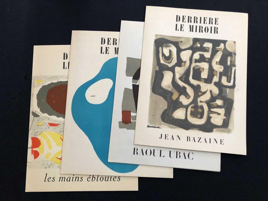 Group of four Derriere le Miroir: 23 Bazaine – 32  Les