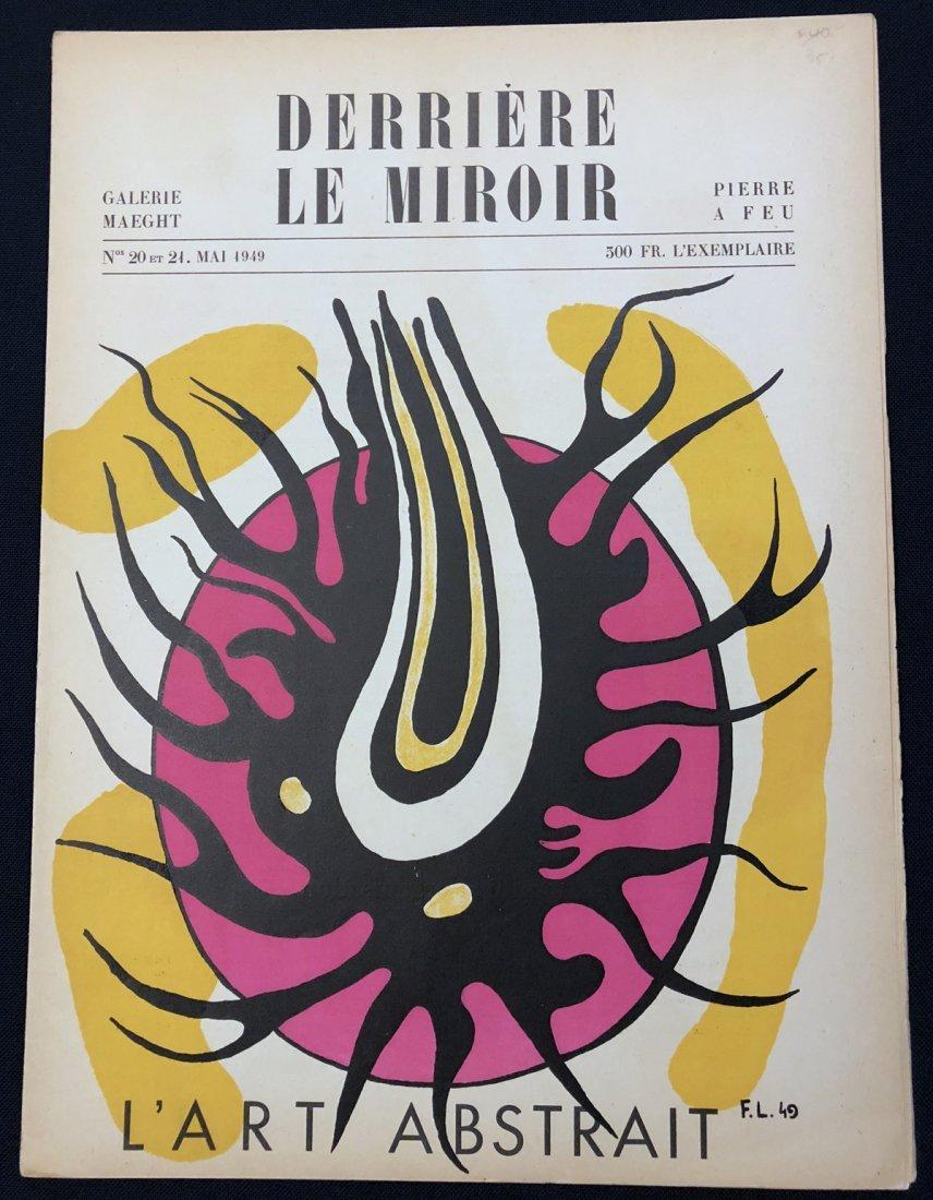 Derriere le Miroir 20-21, 1949, original lithographs by
