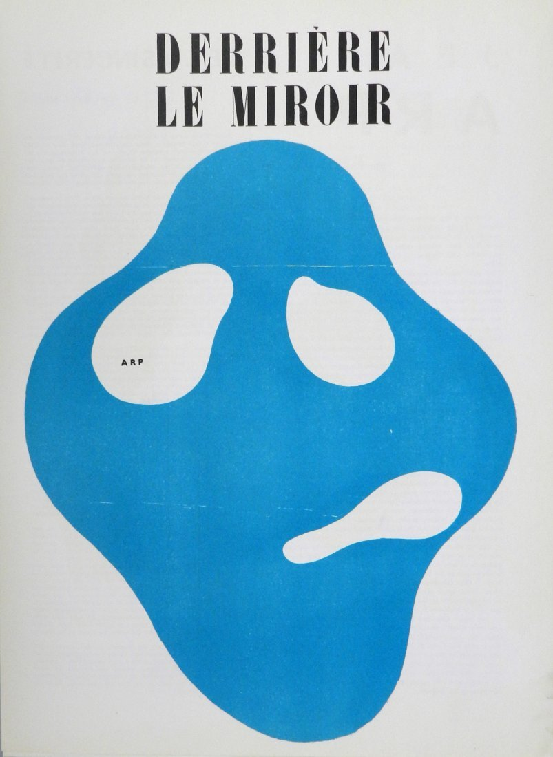 Derriere le Miroir 33, 1950, with original woodcuts by