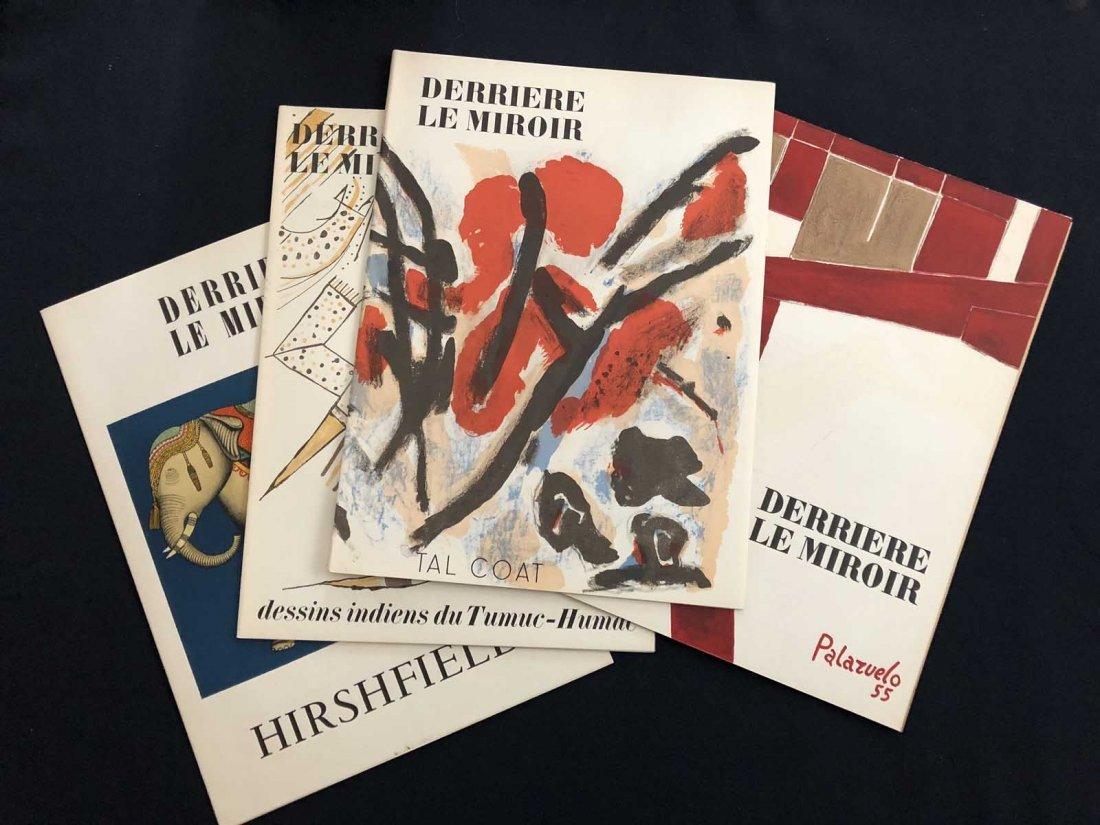 Group of four Derriere le Miroir: 35 Hirshfield – 64