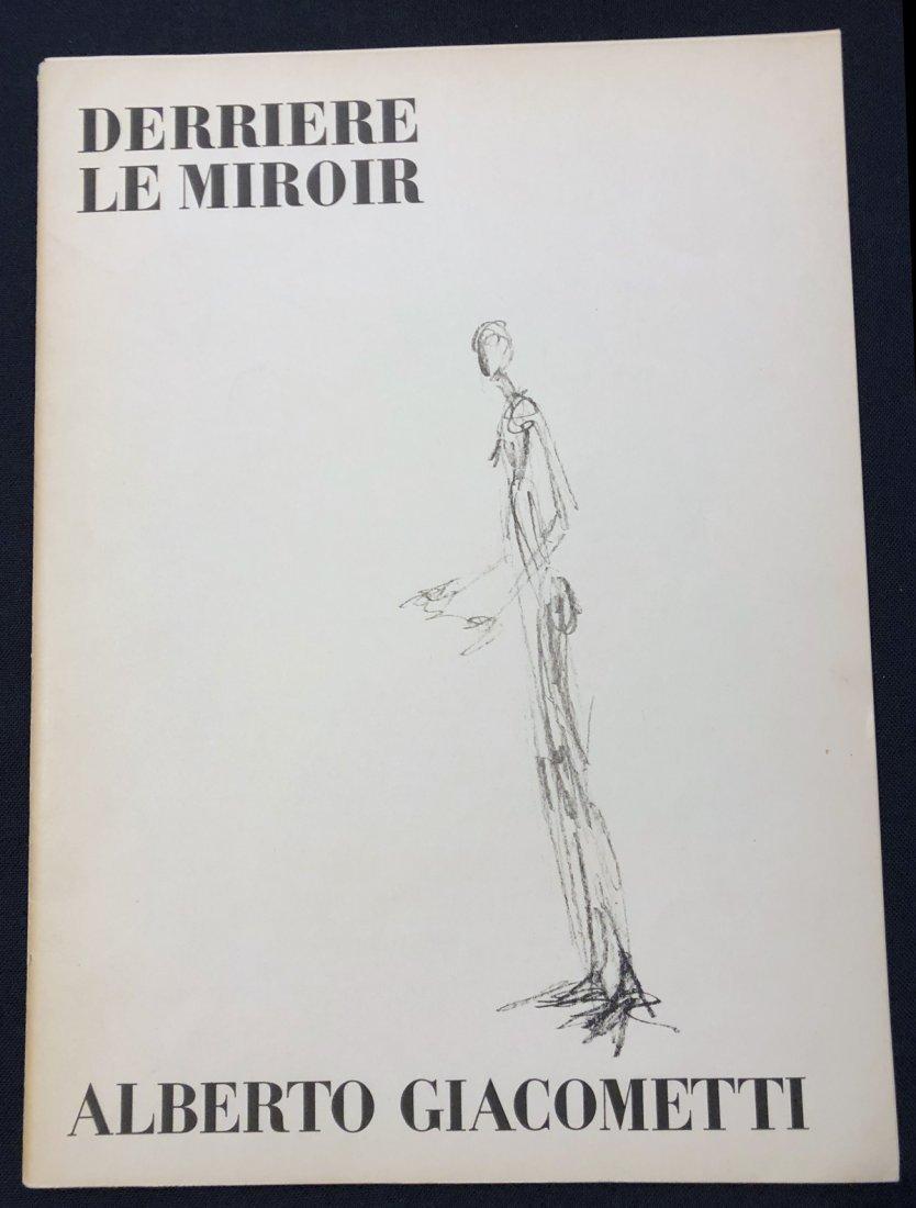 Derriere le Miroir 98, 1957, with original lithographs