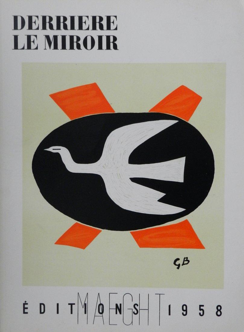 Derriere le Miroir 112, 1958, with original lithographs