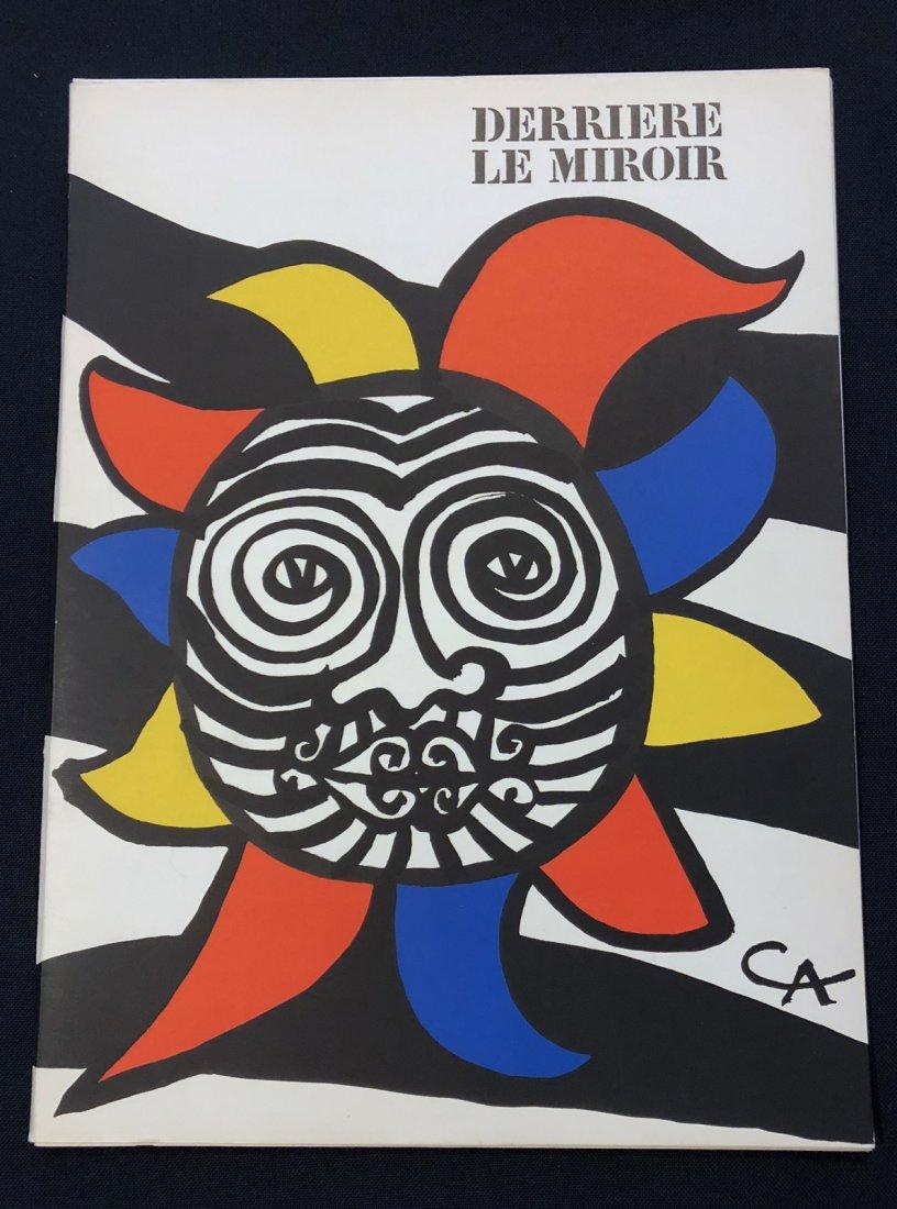 Derriere le Miroir 156, 1966, with original lithographs