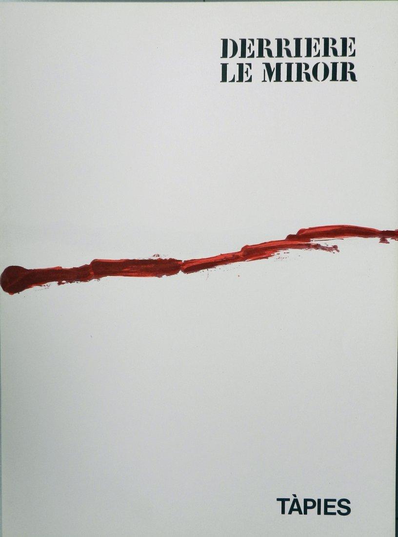 Derriere le Miroir 180, 1969, with a lithograph