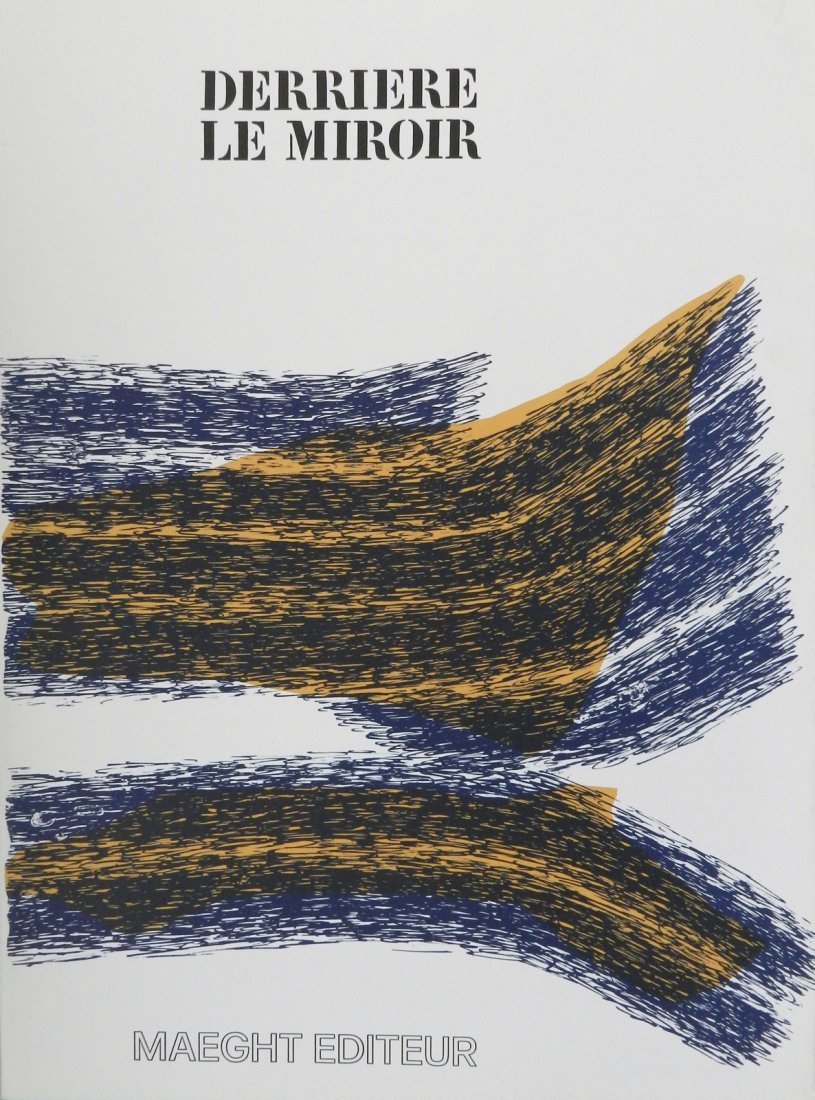 Derriere le Miroir 195, 1971, with lithographs by