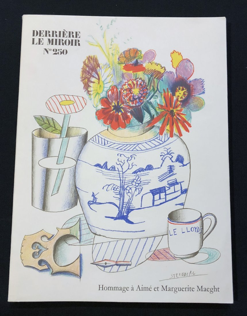 Derriere le Miroir 250, 1982, with original lithographs