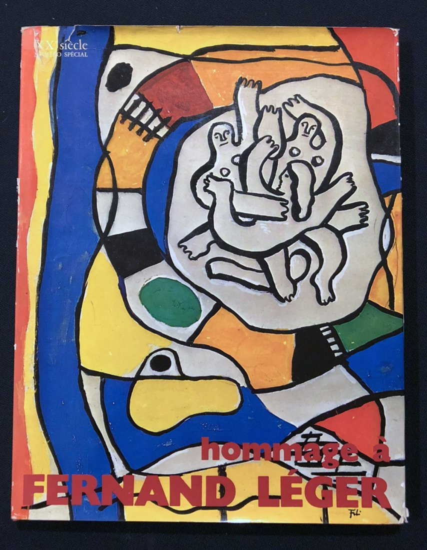 Hommage a Fernand Leger, 1971 with one color lithograph