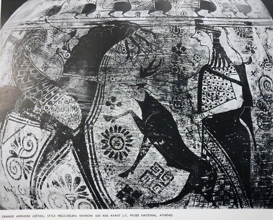 Revue Cahiers d'Art: L'Art en Grèce, 1934
