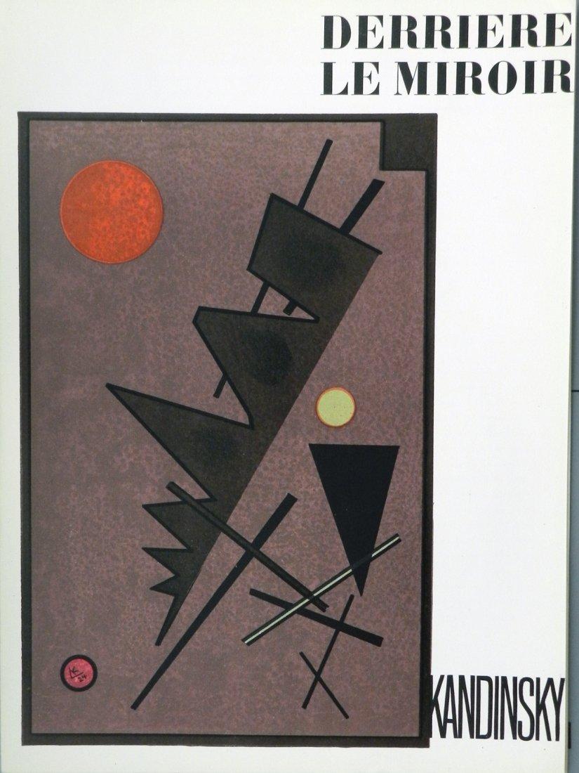 Kandinsky Vassily. Derriere le Miroir 60-61, 1953, with