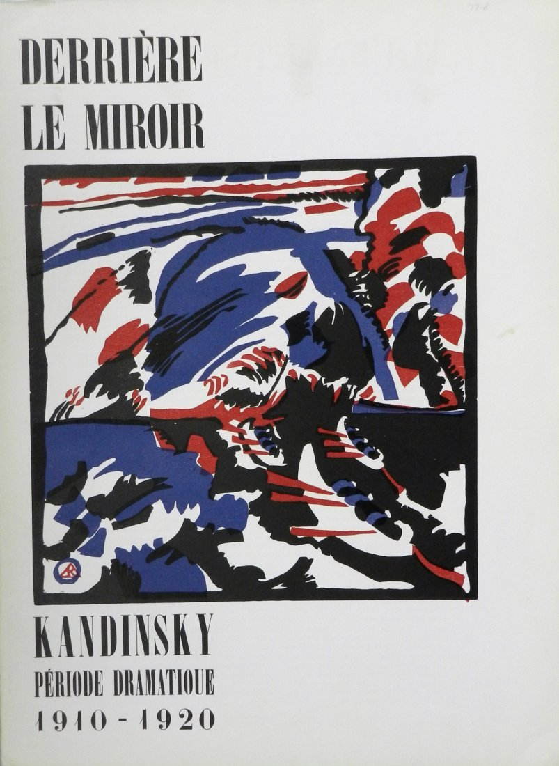 Derriere le Miroir 77-78, 1955, with woodcuts and