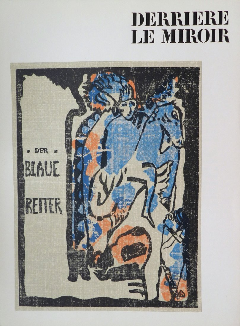 Derriere le Miroir 133-134, 1962, with lithographs by