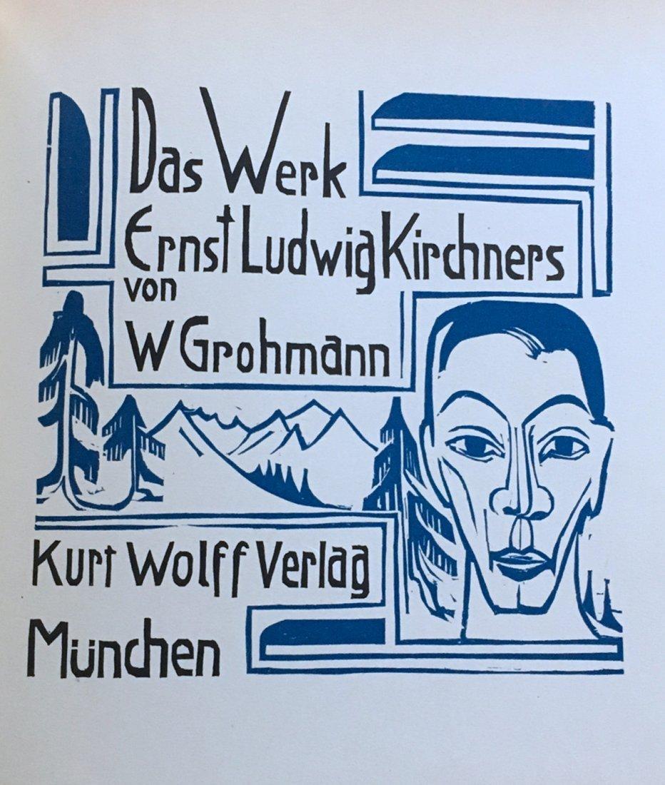 Das Werk, Ernst Ludwig Kirchners, 1926, rare.