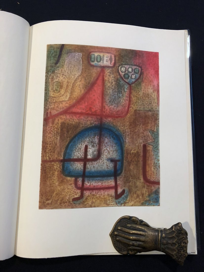20 Pochoirs in color by Klee. 1955. One of 200 copies.