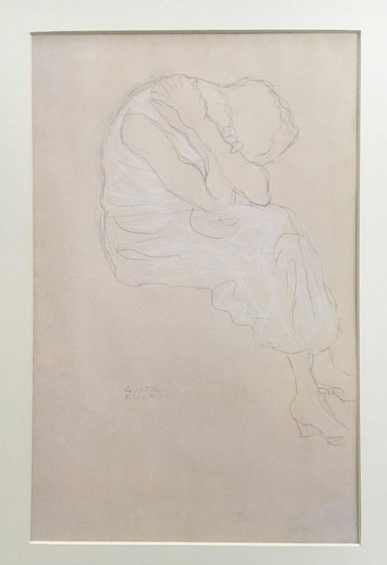 Klimt Gustav. 2 Large portfolios with 12 prints