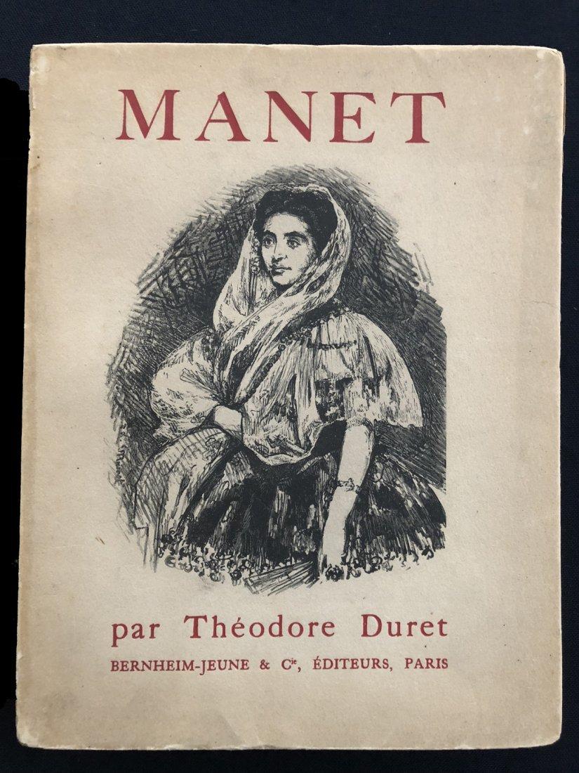 Histoire de Edouard Manet et de son oeuvre, 1919.