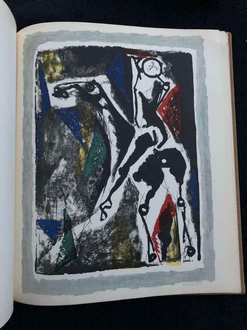 Marino Marini Graphic Work and Paintings 1960