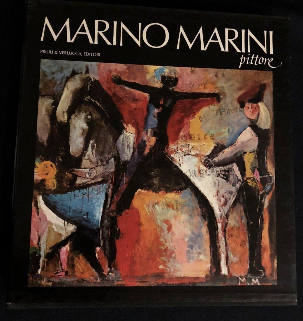 Marino Marini Pittore – A compressive catalogue of