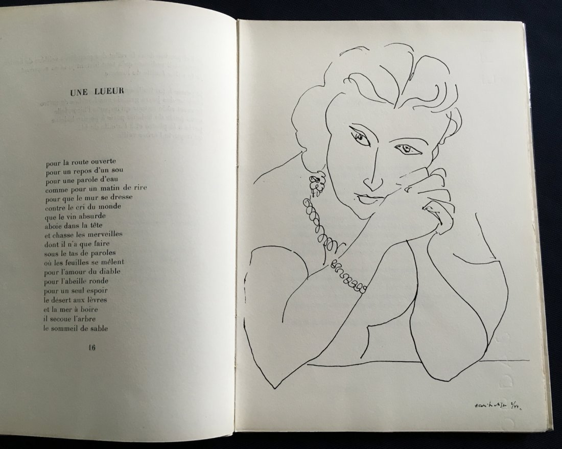 Matisse. Le Signe de Vie. 1946. with one original