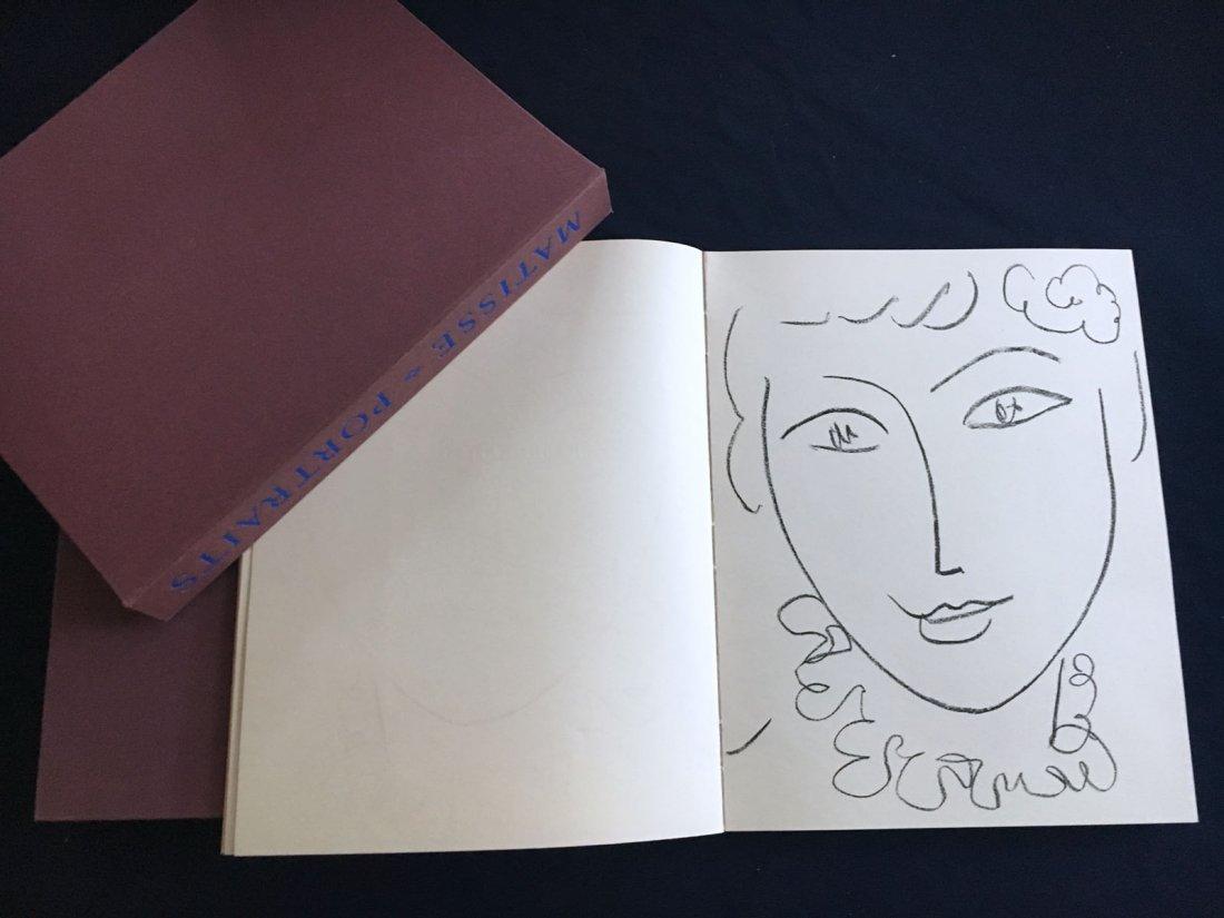Portraits par Henri Matisse. 1955, with one original