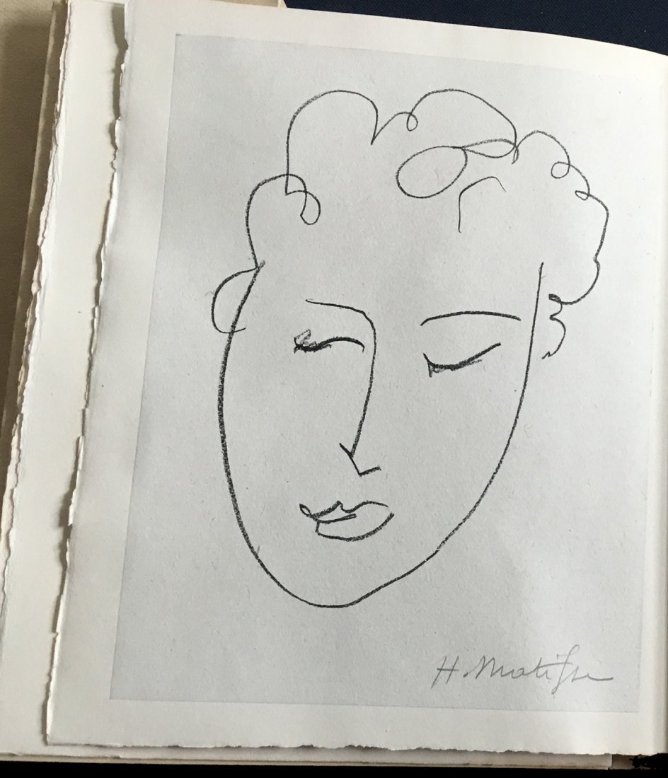 Matisse. Pierres Levees. 1948, with one original signed