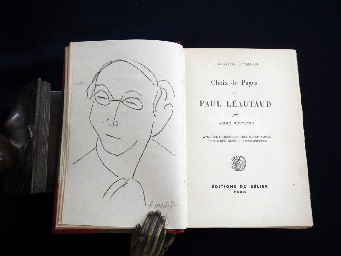 Choix de pages, 1946, with original signed lithograph