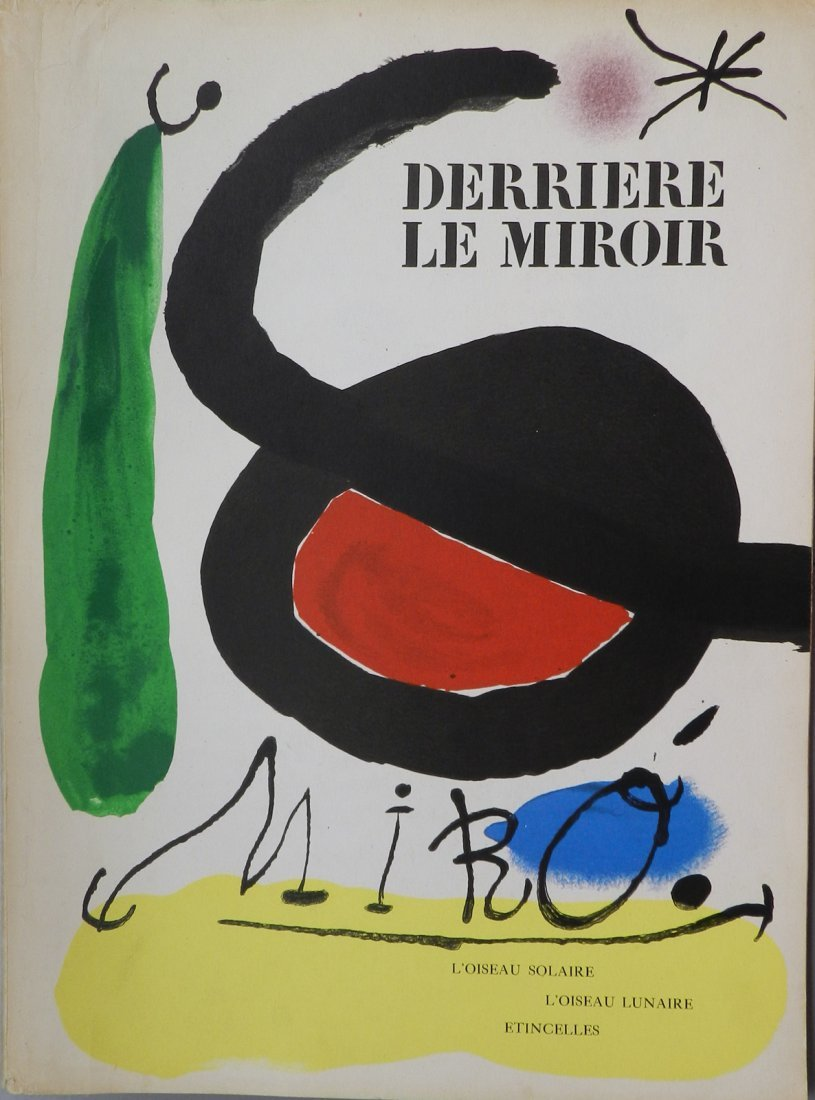 Miro Derriere le Miroir 164-165. 1967, with original