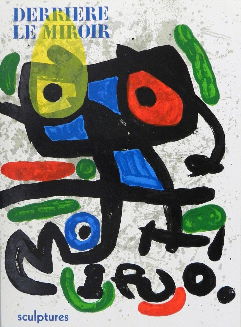 Miro. Derriere le Miroir 186. 1970, with original