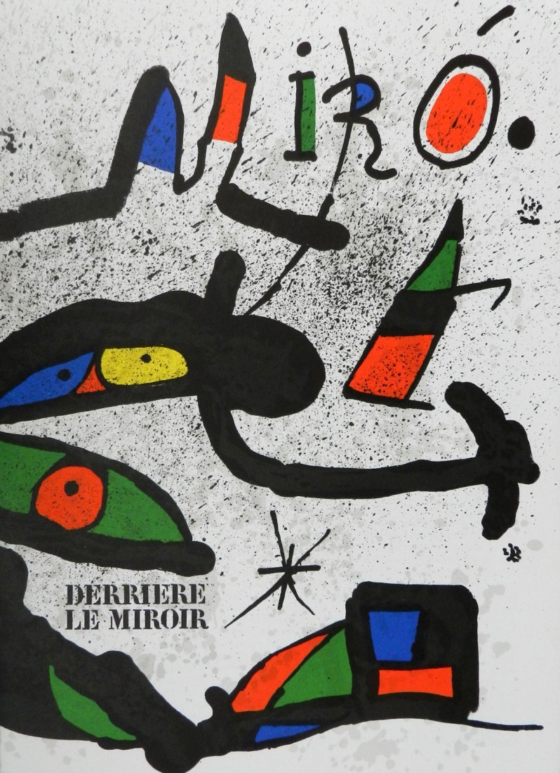 Miro. Derriere le Miroir 231. 1978, with two original