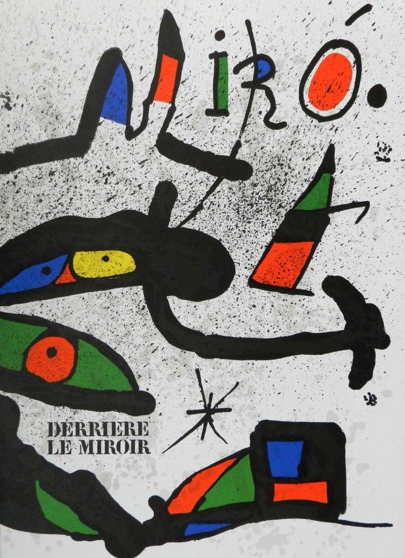Miro. Derriere le Miroir 231. 1978, with two original