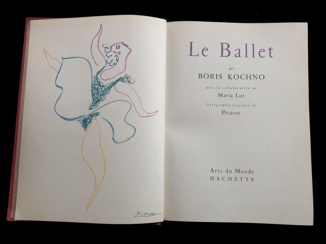 Picasso Pablo. Le Ballet. 1954 with one original