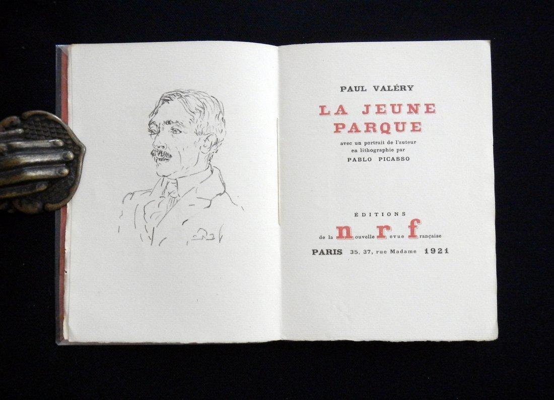 Picasso, Valery. La Jeune Parque. 1921, with a