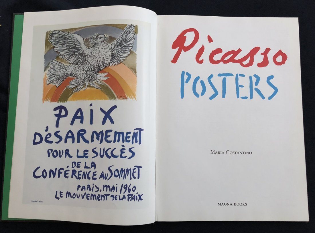 Picasso Posters by Maria Costantino. 1991