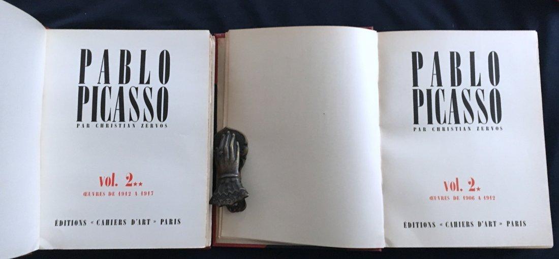 Pablo Picasso par Christian Zervos, 2 vols. 1942 - 1961