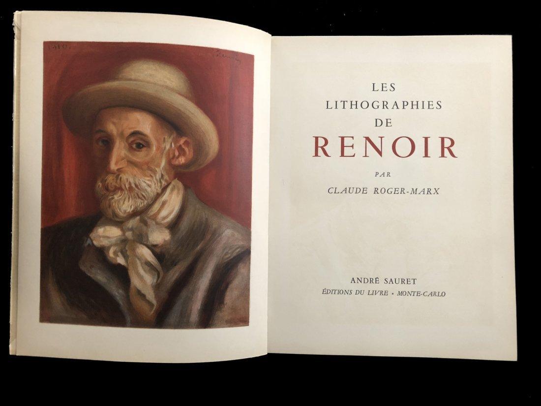 Les Lithographies de Renoir. 1951
