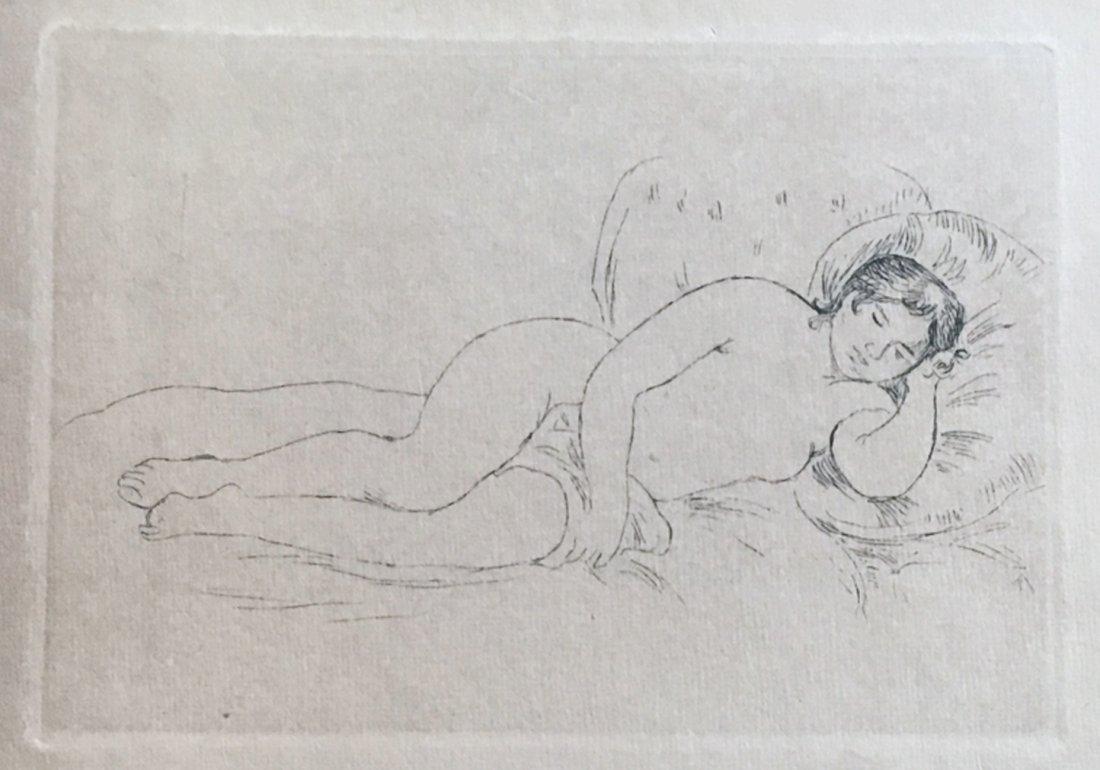 Renoir peintre du nu, 1923, book with an original