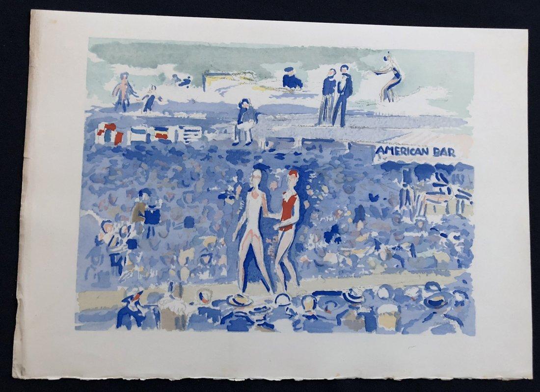 Van Dongen Kees. Deauville. 1931, Portfolio with five