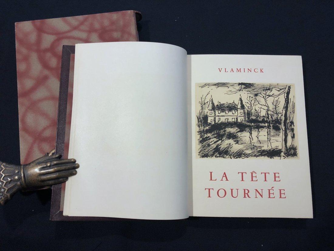 Vlaminck Maurice. La Tete Tournee. 1956, with 12
