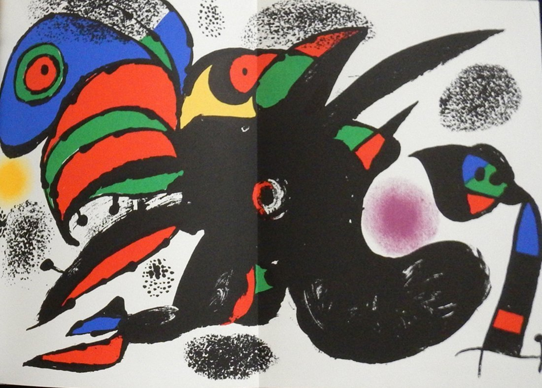 Revue XXe siècle, 47. 1976, with 1 original lithograph