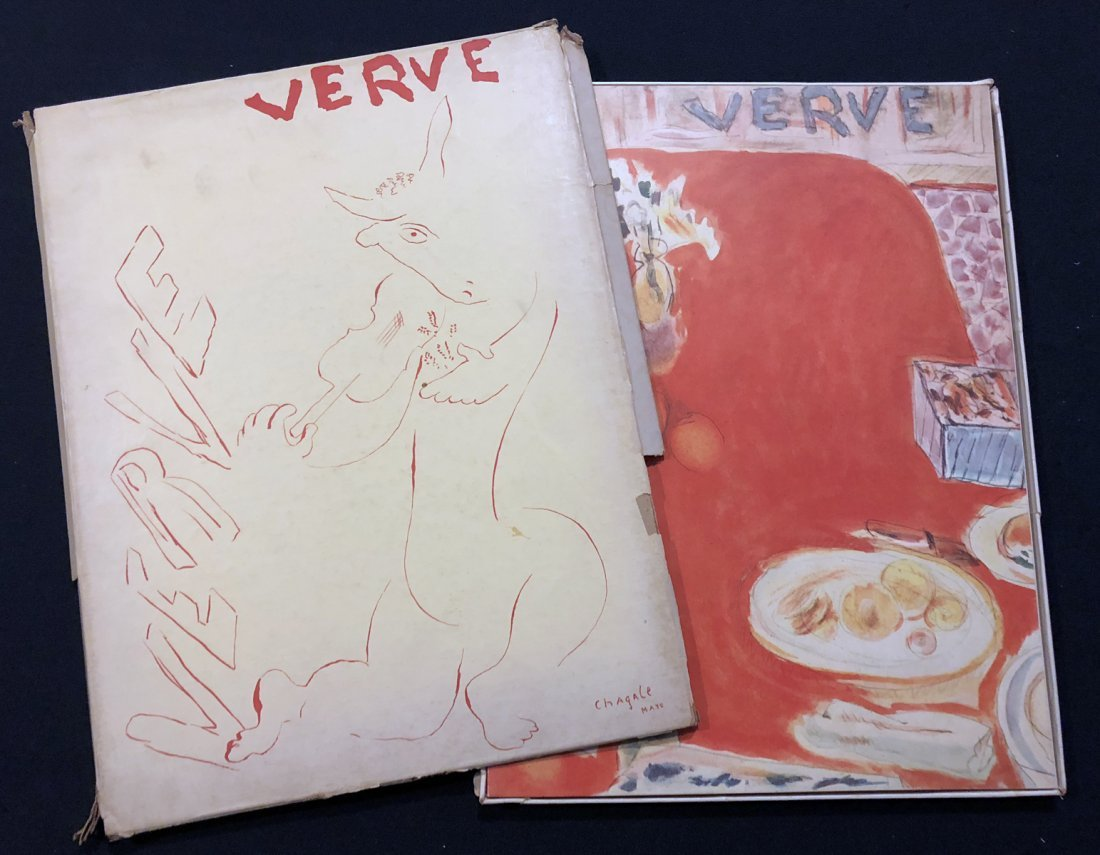Verve Vol. 1 N. 3, 1938. With 4 original lithographs.