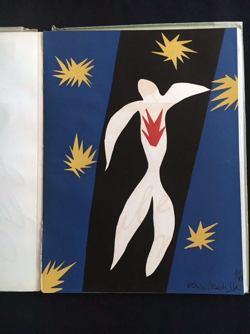 Matisse de la Couleur. Verve 13. 1945, with Icare