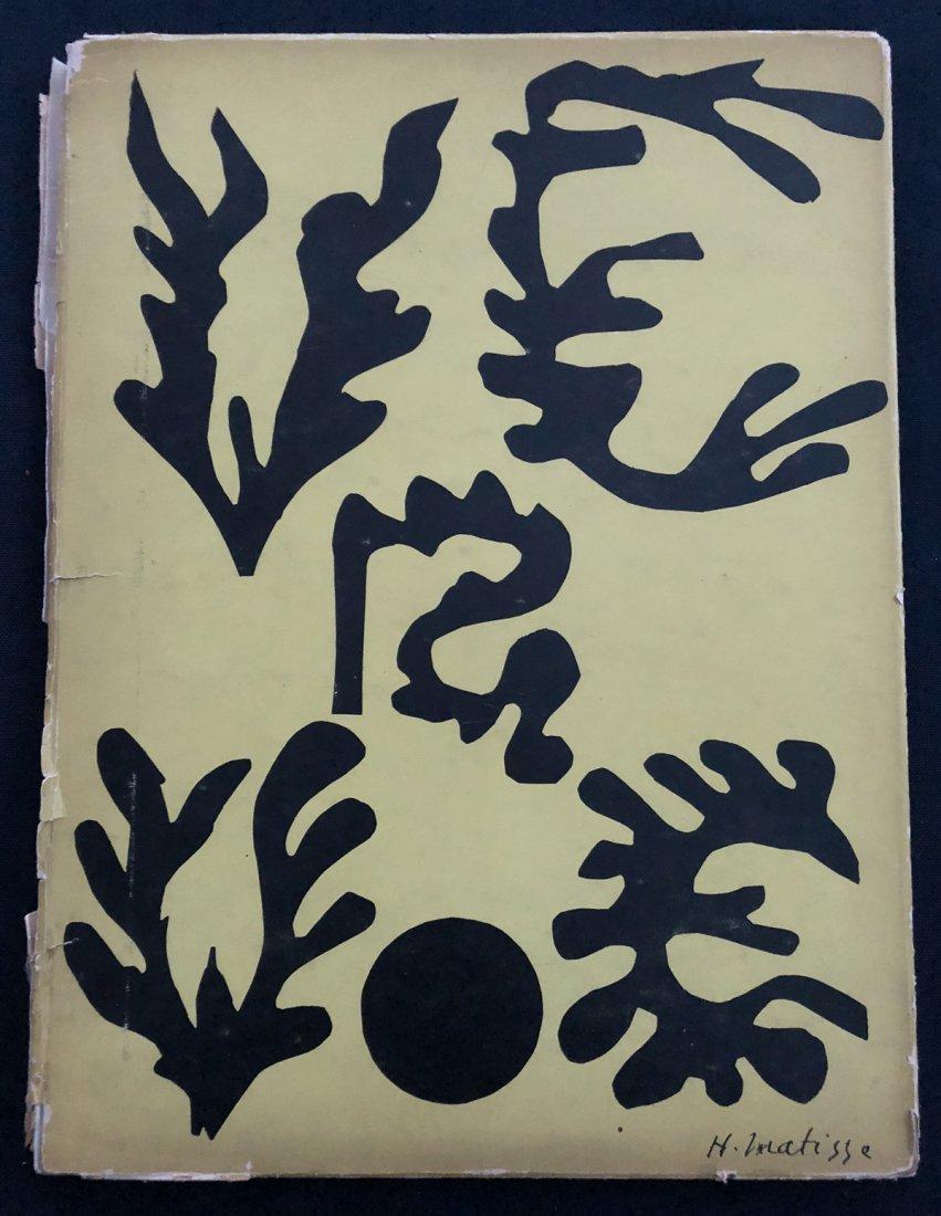 Matisse Henri. Verve 21-22.  1948.