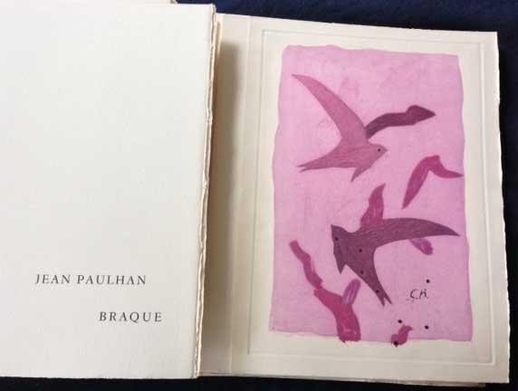 Paroles Peintes I, 1962. Portfolio with 14 etchings by