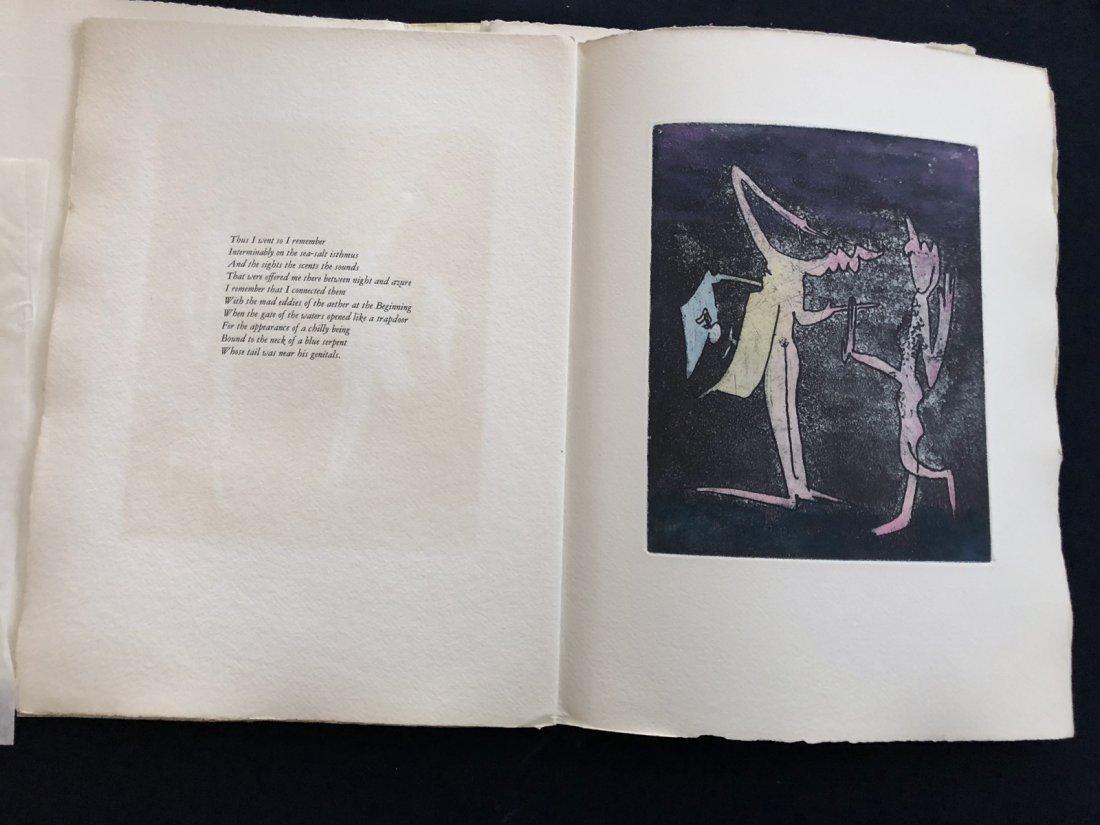 Paroles et Peintes IV, 1970. Portfolio with signed