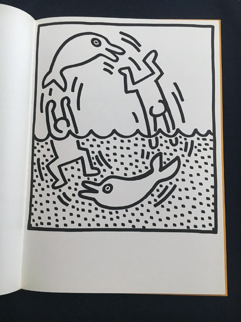 Keith Haring 1983, Amelio. 29 lithographs.