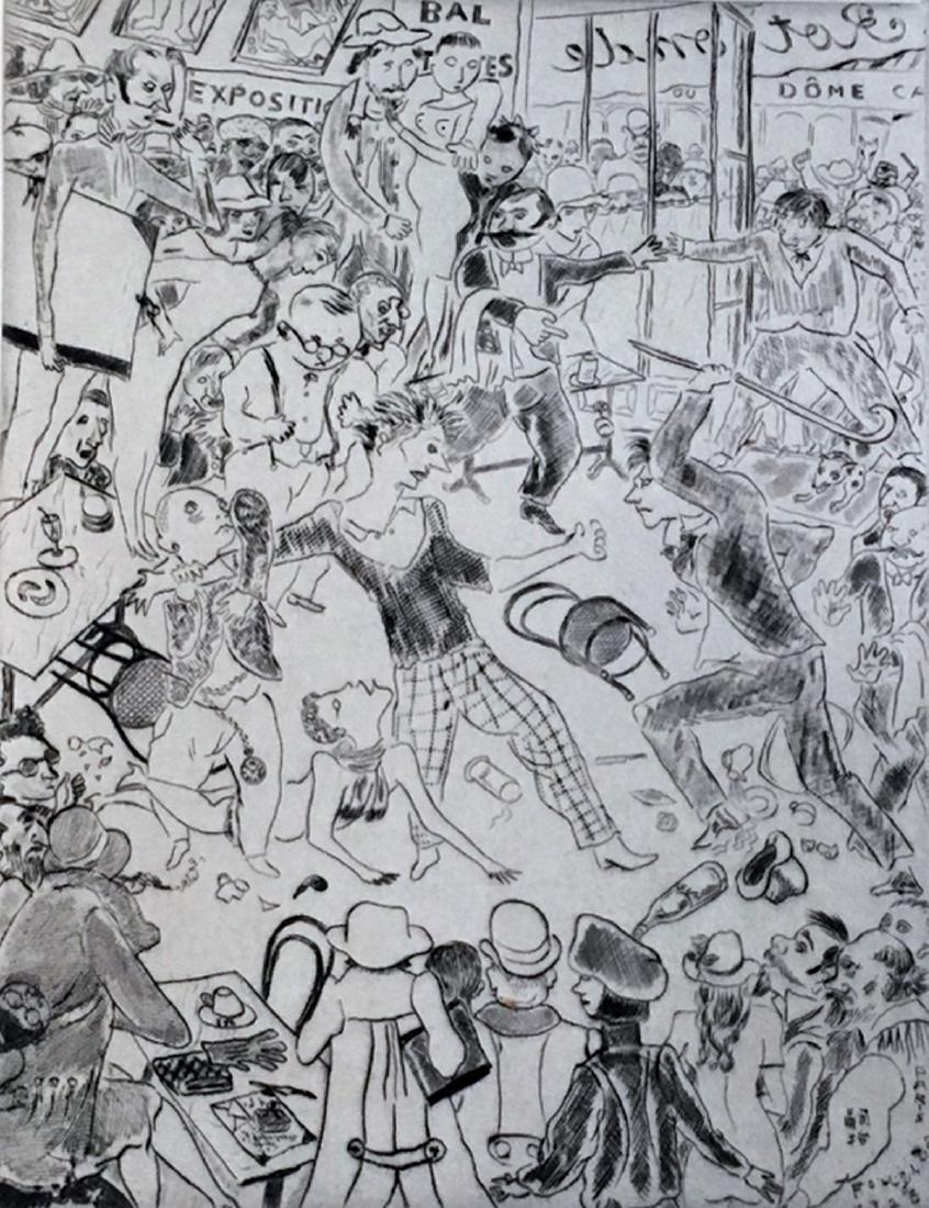 Tableaux de Paris 1927, with original prints by