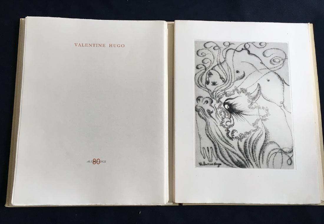 Alternance, 1946. Portfolio with etchings by Matisse,