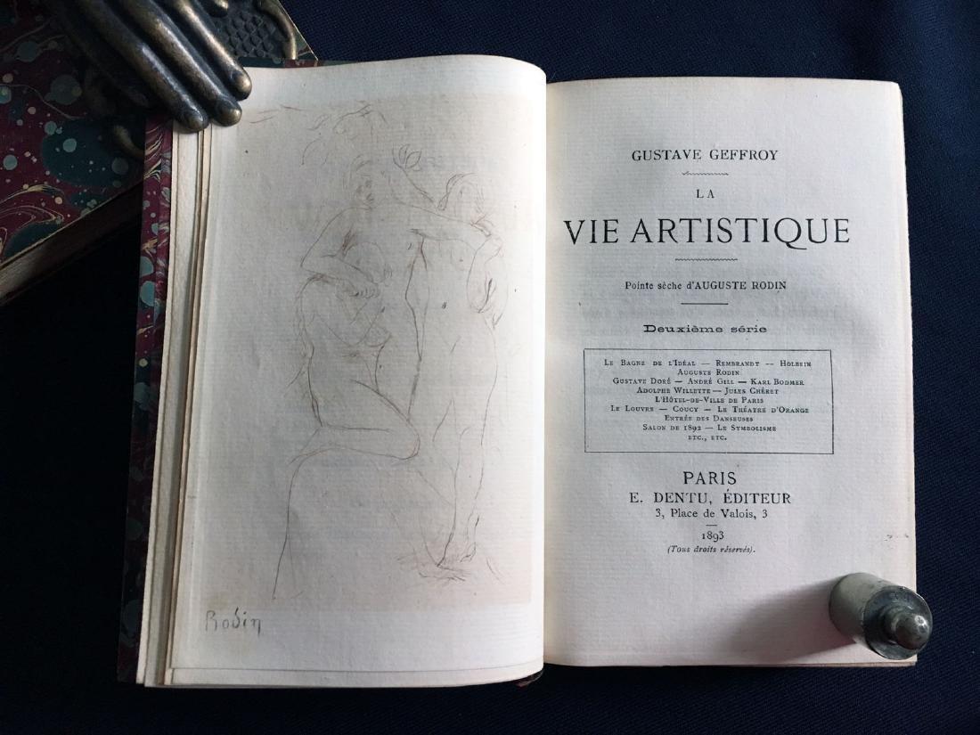 La vie artistique, 1892/95. Geffroy, Gustave. 1ière -