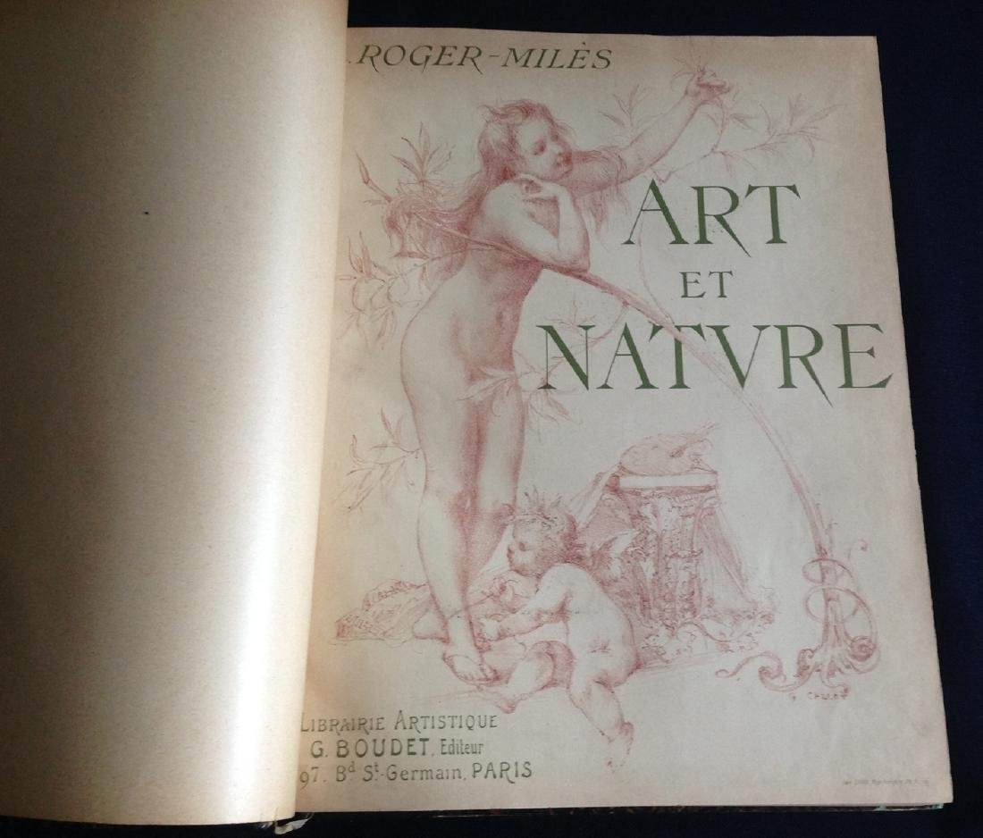 Art et Nature, 1897, with 35 original etchings