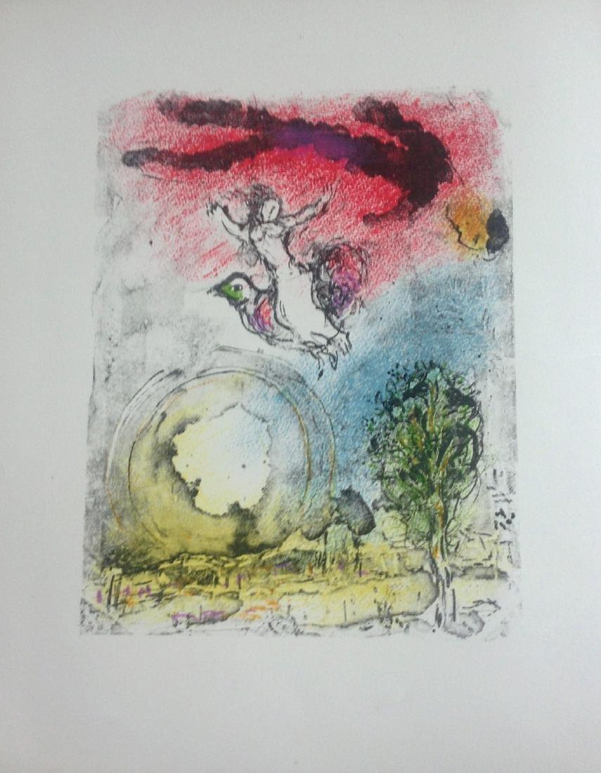 La Poesie, 1976, portfolio with original lithograph by